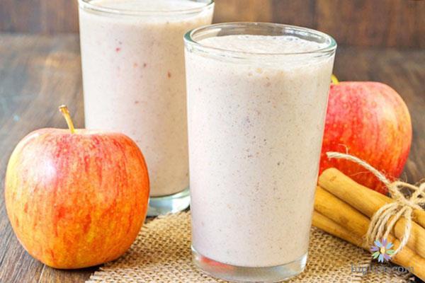 Cách làm sinh tố táo – sữa tươi – nước cốt chanh