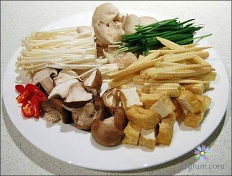Công thức nấu canh nấm sò