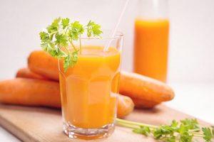 Hướng dẫn làm sinh tố cà rốt