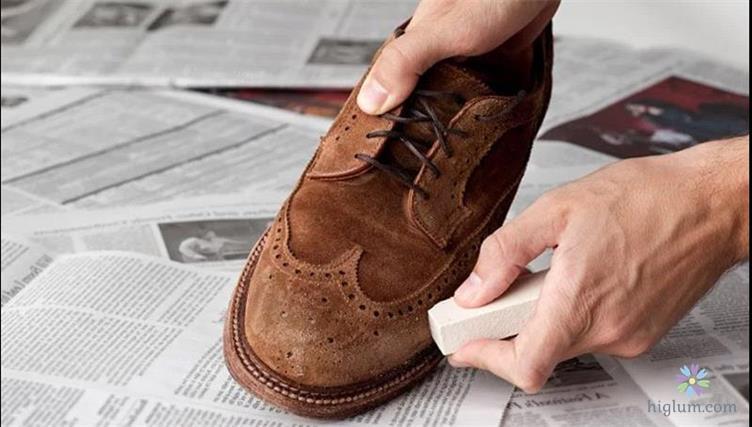 Hướng dẫn vệ sinh giày da lộn