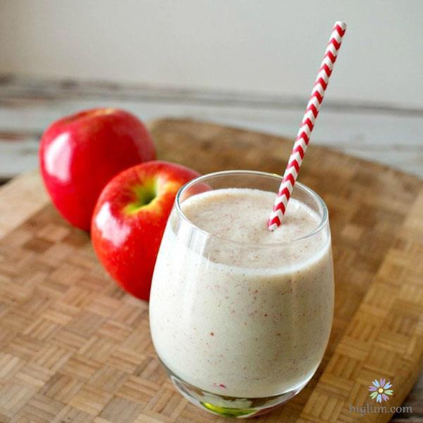 Cách làm sinh tố táo