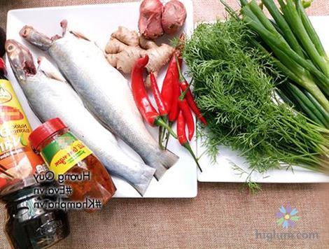 Công thức nấu món cá nhụ hấp xì dầu