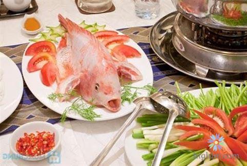 Lẩu cá diêu hồng