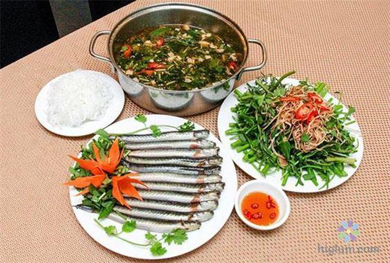 Thưởng thức món lẩu cá kèo thơm ngon