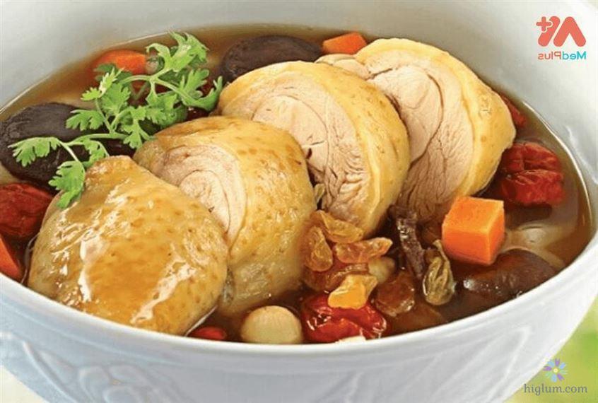 Hướng dẫn nấu canh gà