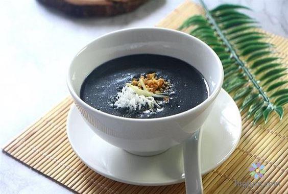 cách nấu chè mè đen hồng lựu | Món Miền Trung